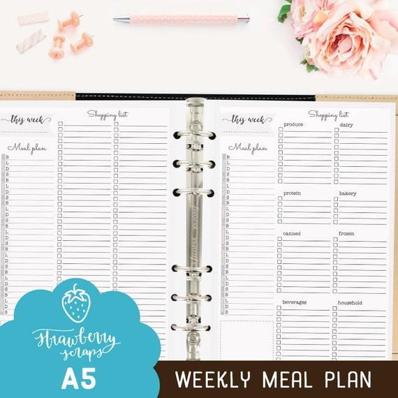 meal plan planner