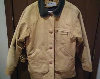 Vintage LL Bean Field Coat S