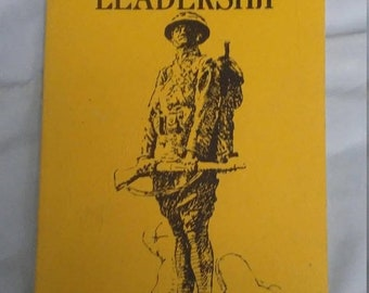 Flash 50% off sale Vintage Presentation Copy of Battle Leadership Capatain Adolf Von Schell Book
