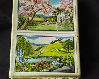vintage boxed playing cards