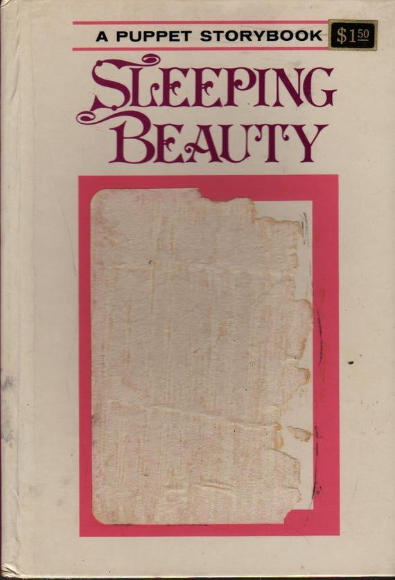 Sleeping Beauty Puppet Storybook + Oscar Weigle + Tadasu Izawa and Shigemi Hijikata + 1972 + Vintage Kids Book