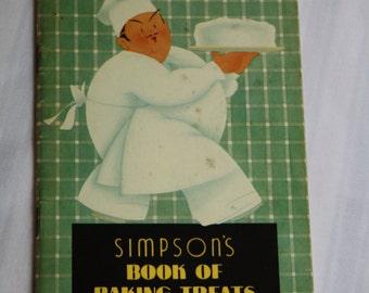Simpson's Book of Baking Treats - 1937