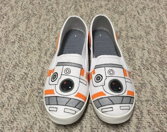 BB8 Slip-on Canvas Shoes