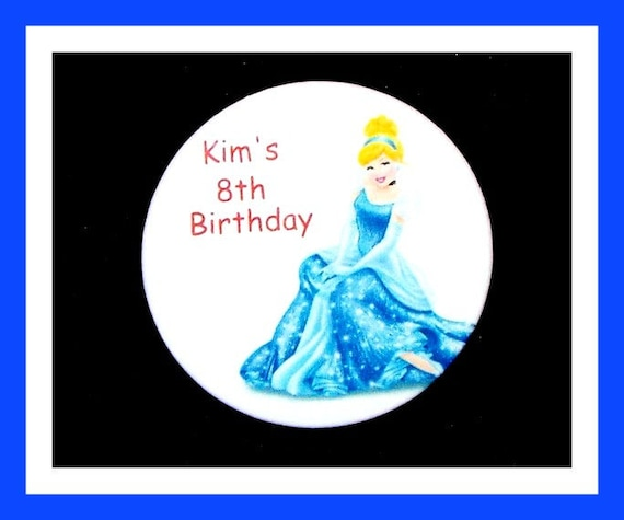 Birthday Party Favor Personalized Button, Princess Pin Favor,School Favor,Kid Party Favor,Boy Birthday,Girl BirthdayPin,Favor Tag Set of 10