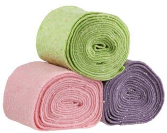 50 cm/half-metre Confetti felt strip, 15 cm wide, Color choice (colour: Lavender)