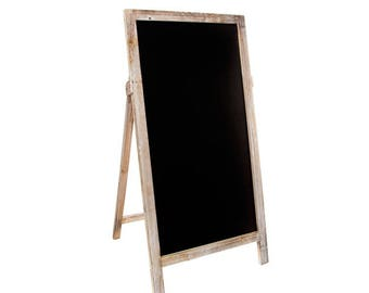 Vintage A-Frame Chalkboard 42 x 60cm high