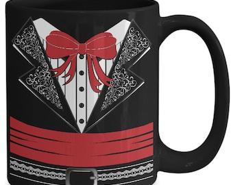 Mariachi Band Amigo 15oz Black Coffee Cup