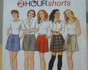 Simplicity 9686 Culottes, skort, shorts sewing pattern 4 6 8 UNCUT