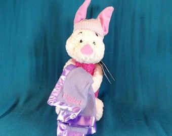 Disney Gund Plush Piglet From Winnie The Pooh