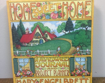 Mary Engelbreit Home Sweet Home owners journal and project planner interior decorating planner house building journal