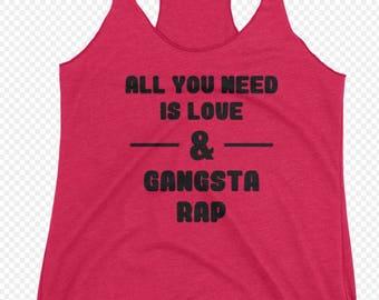 Love & Gangsta Rap **Free Shipping**