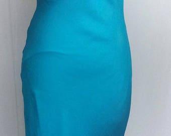 Blue beautiful dress