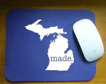 Michigan  'Made' Computer Mouse Pad