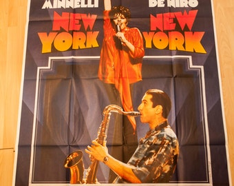 France New York Nexw York Scorcese film poster