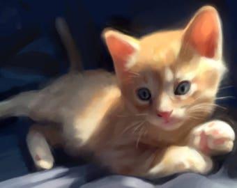 Custom Pet Portrait - DIGITAL DOWNLOAD