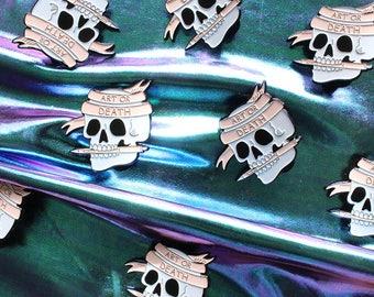 Art or Death Soft Enamel Pin