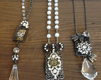 BoHo Chic and Bling Necklaces