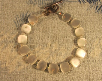 Vintage Tateossian MOP bracelet