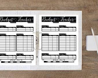Budget Planner Printable - Finance Planner - Budget Printable - Biweekly Budget Sheet - Printable Budget Tracker - Finance Printable, 8.5x11