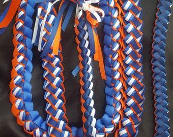"3-D Gorgeous Graduation Lei (5/8"" Ribbon)"