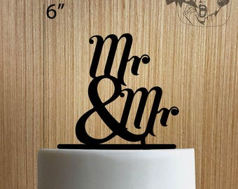 Mr and Mr 225-057 Cake Topper