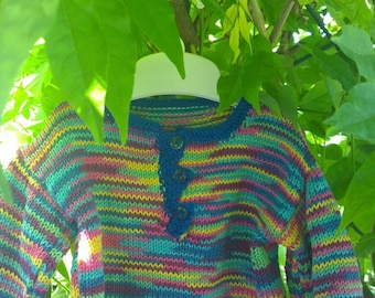 Baby multicolor sweater 80 cm (12-18 Month)
