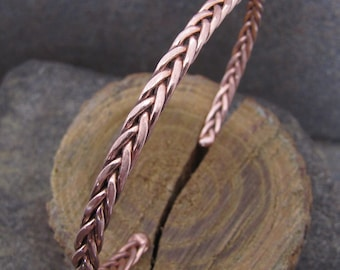 Copper Cuff Bracelet for Carpal Tunnel, Tendonitis, Arthritis or Just a Cool Copper Bracelet