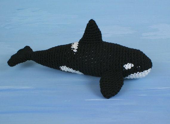Free Crochet Amigurumi Whale Patterns : Pdf orca killer whale amigurumi crochet pattern