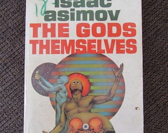 The Gods Themselves by Isaac Asimov 1972 Paperback Free Shipping