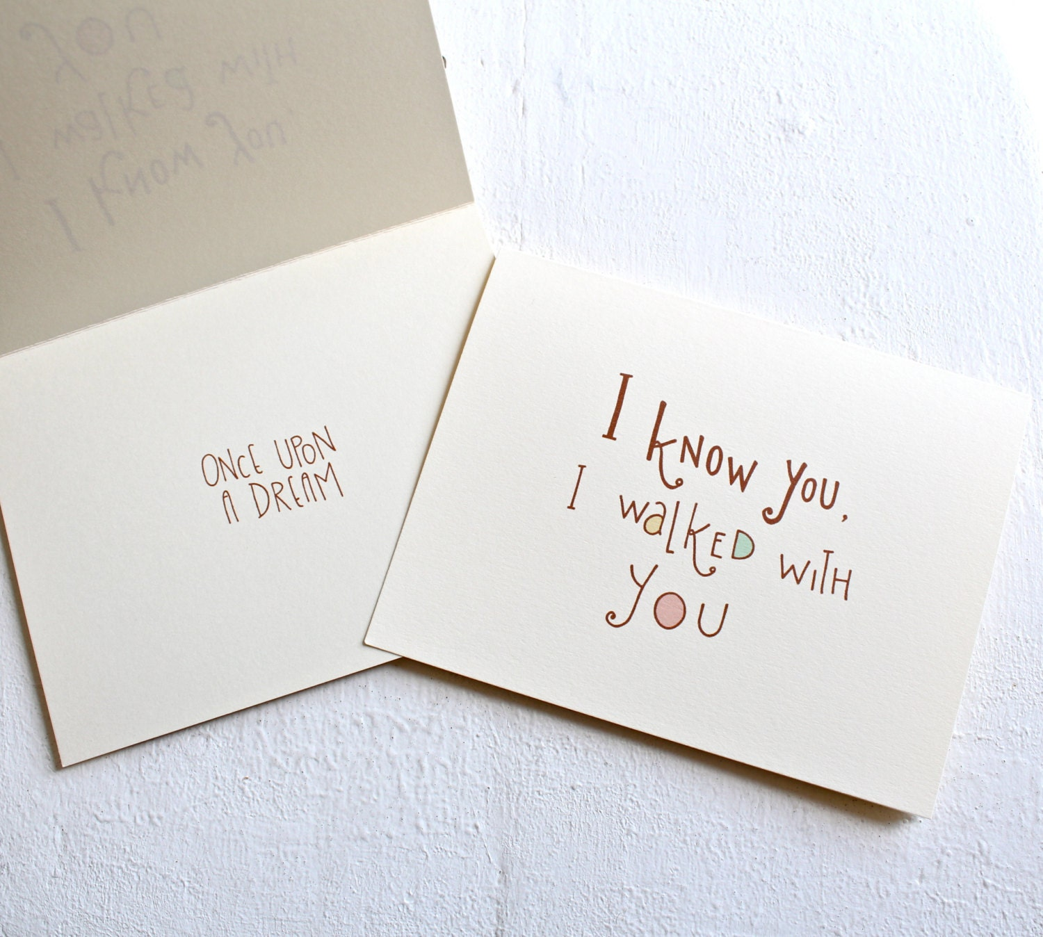 Love Quotes For Valentines Day Cards Love Quote Card I Know You I Walked With You Once Upon A