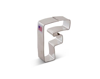 Letter F Cookie Cutter, Baking and Candy Making, Bakeware, Cookie Cutters