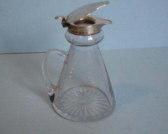A Fine Silver Whisky Noggin 1937
