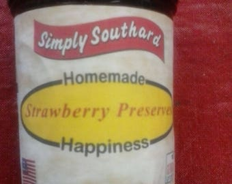 Strawberry Preserves (Jam)