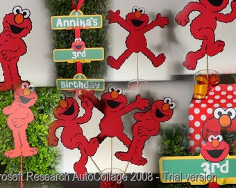 Elmo Party Package