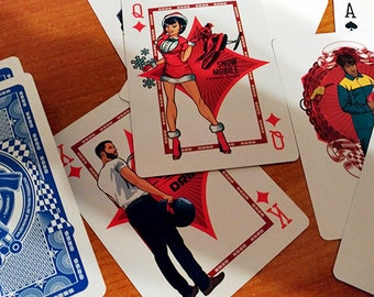 Car playing cards SS20 (pin-up style)