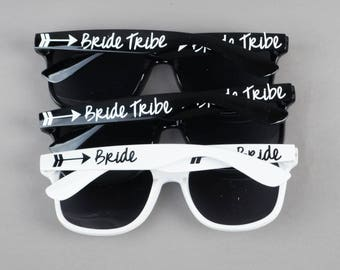 Bride Tribe Sunglasses - Personalized Sunglasses - Bride Tribe - Bachelorette Party - Bridal Party Gifts - Wedding Party - Bridesmaid Gift