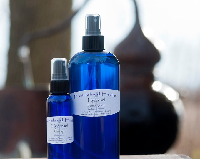 Hydrosol -  facial toner and mineral makeup setting spray, White Sage, Lemon Balm, Peppermint, Mountain Mint, Lemongrass, Comfrey and more