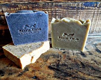 Honest Amish 3 Organic Soaps