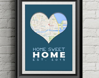 DIGITAL COPY: Housewarming Or Apartment Warming Gift, New Home Gift