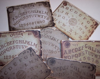 Ouija Journaling Tags set of 8
