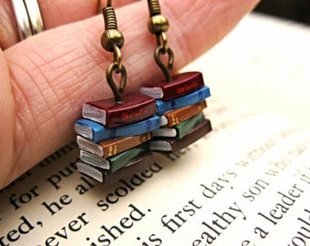 60 Stack of Book Earrings for Dani - Wholesale Order
