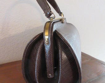 BEAUTIFUL Vintage 1940's Handbag MADE In USA By 'Meyers' - Lovely!!