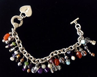 Handmade Bracelet with Assorted Gemstones