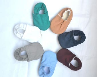 solid soft shoes for baby plain baby shoes newborn shoes baby boy shoes baby girl shoes neutral baby slippers plain toddler shoes moccasins
