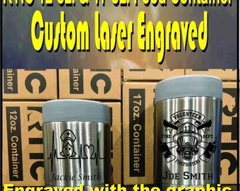 RTIC 12 oz. and 17 oz. Food Containers