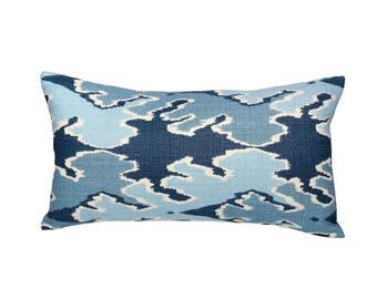 Bengal Bazaar lumbar designer pillow covers - Stuck on Hue - Kelly Wearstler