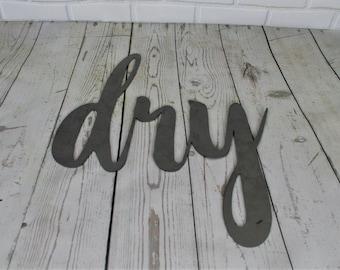 DIY unpainted signs