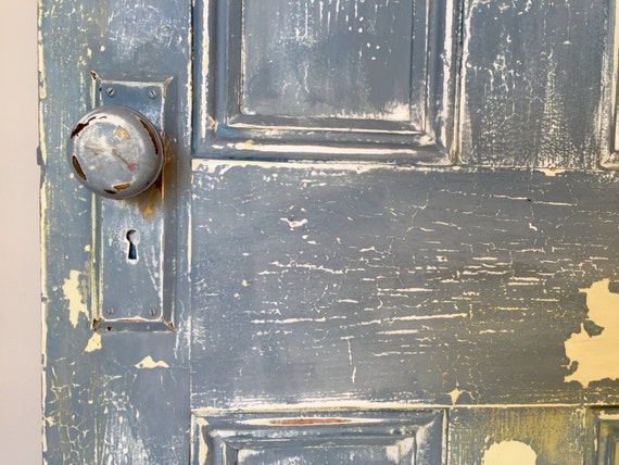 Wooden Door - Vintage Door - Old Doors - Antique Door - Rustic Door - Distressed Painted