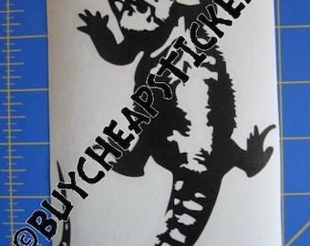 Bearded Dragon Decal/Sticker 6X4