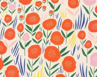 Baum Ivory, No Place Like Home, Organic Cotton Fabric